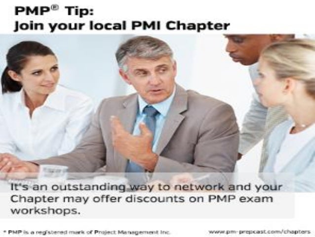 PMP Tip: Join your local PMI Chapter