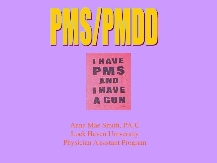 Anna Mae Smith, PA-C   Lock Haven University Physician Assistant Program