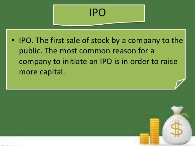 Ipo and fpo ppt