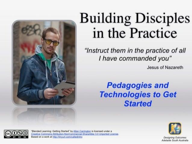 Pedagogies & Technologies Title
