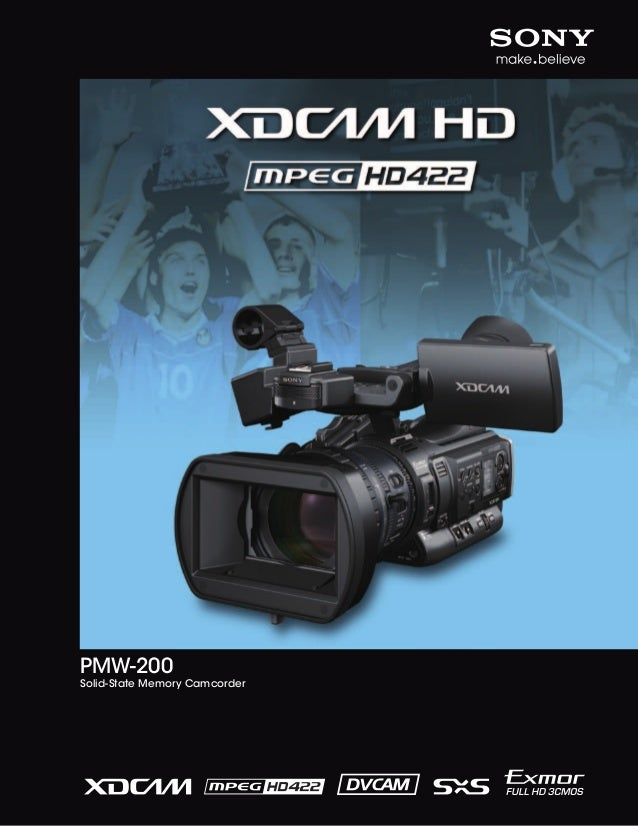 PMW-200  Solid-State Memory Camcorder