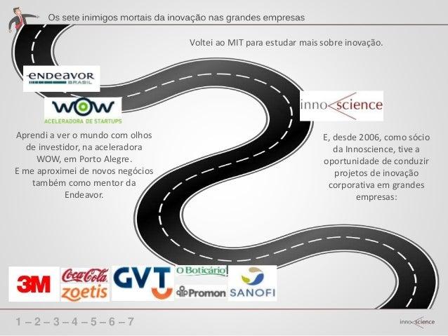 1 – 2 – 3 – 4 – 5 – 6 – 7 A história dos negócios é feita por empresas que quebraram, por empresas que, em função de um em...
