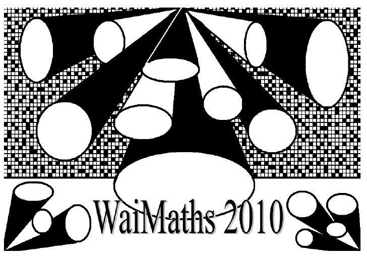 WaiMaths PPP