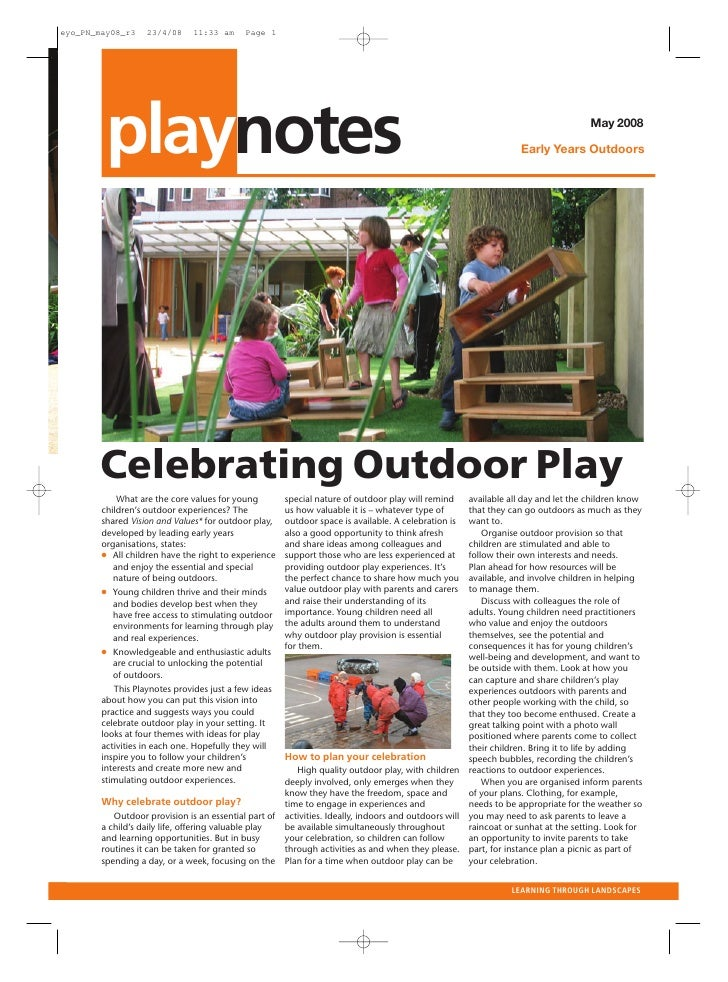 outlook • MAY 2007   playnotes                                                                                            ...