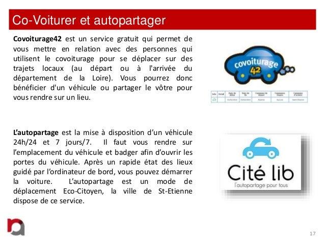 Co-Voiturer et autopartager Covoiturage42 est un service gratuit qui permet de vous mettre en relation avec des personnes ...