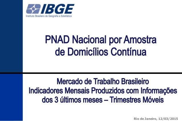 111 Rio de Janeiro, 12/03/2015
