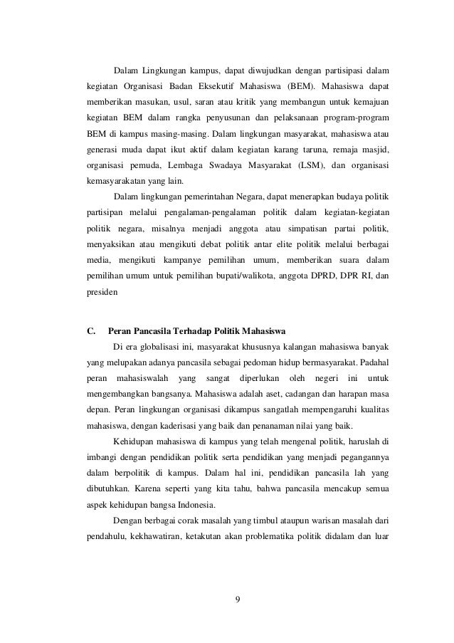 MAHASISWA HARAPAN BANGSA, PASTI BISA !