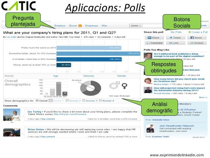 Aplicacions: PollsPregunta                                       Botonsplantejada                                     Soci...