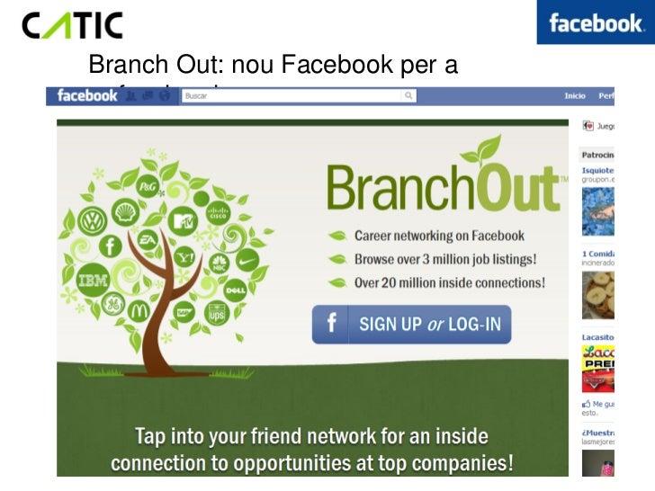 Branch Out: nou Facebook per aprofessionals