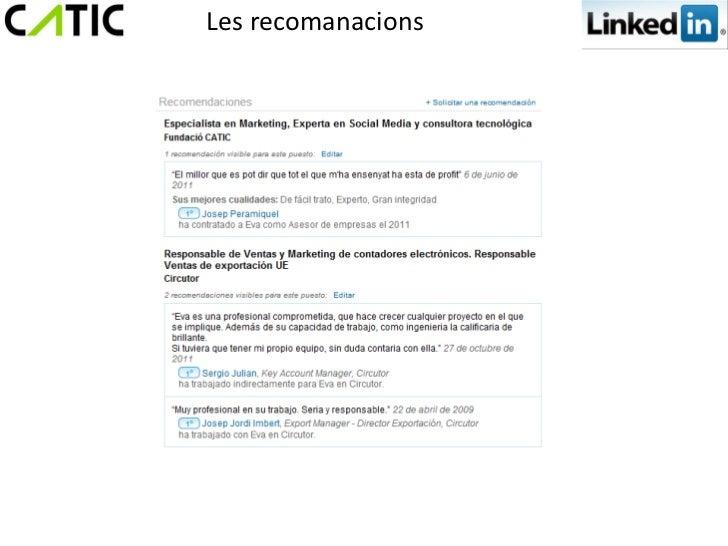 Les recomanacions