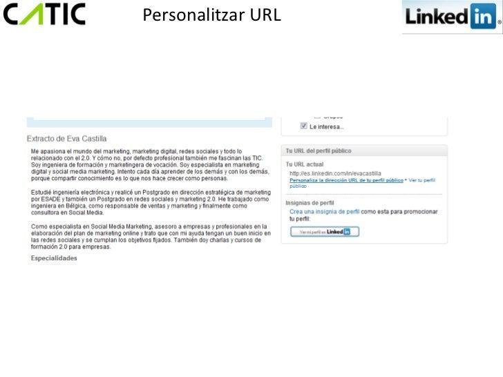 Personalitzar URL