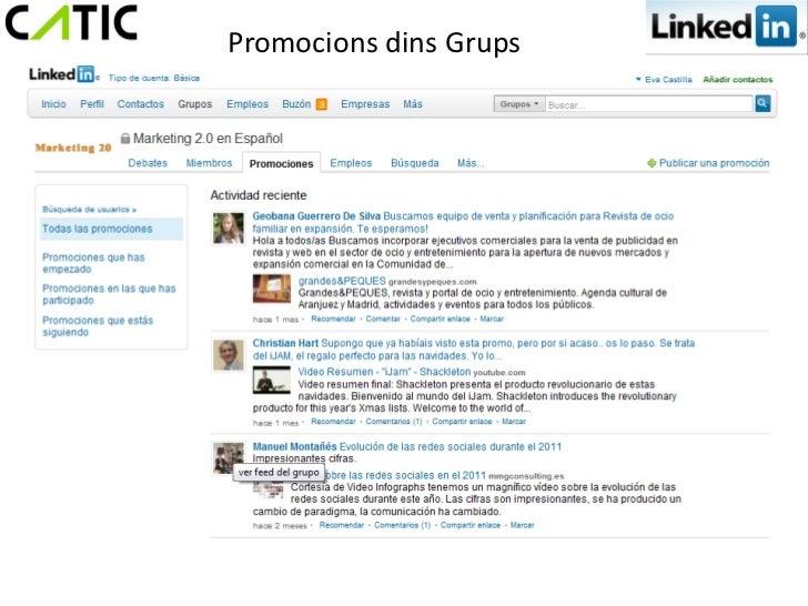 Promocions dins Grups