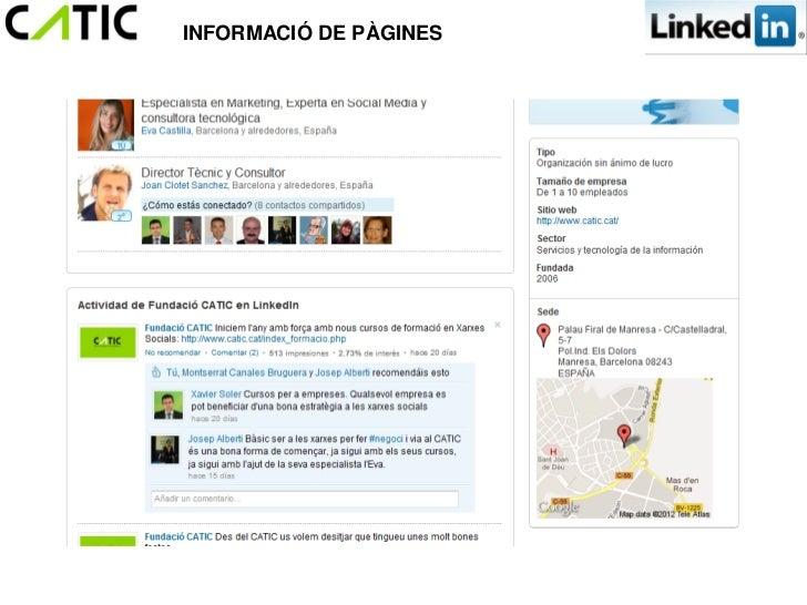INFORMACIÓ DE PÀGINES