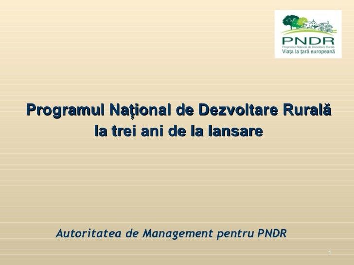 F.G.C.R. - I.F.N. S.A Facilitarea accesului la finantare al beneficiarilor  publici ai PNDR de catre FONDUL DE GARANTARE A...