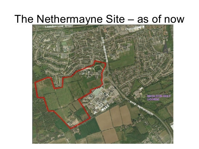 The Nethermayne Site – as of now
