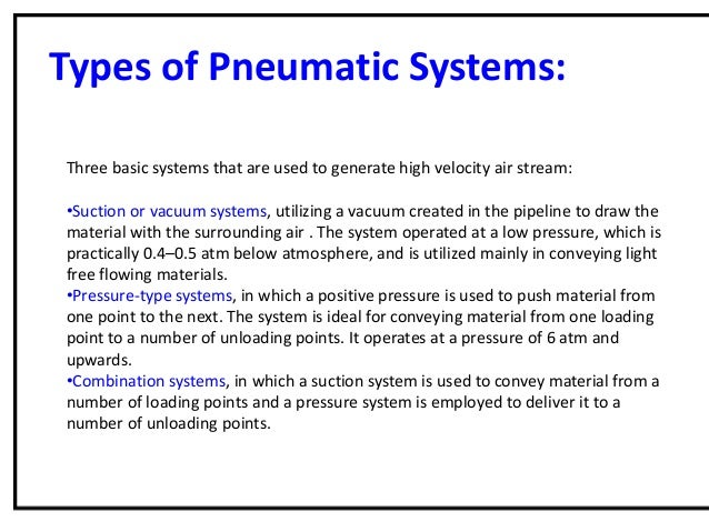 Pneumatic Conveying System An Introduction