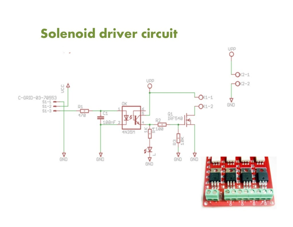 Pneumatic Solenoid Sound Pixel Machine Completed Driver Circuit
