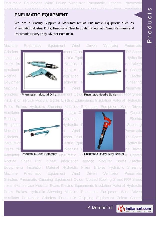 Associated Pneumatic Tools, Vadodara, Pneumatic Tools Slide 3