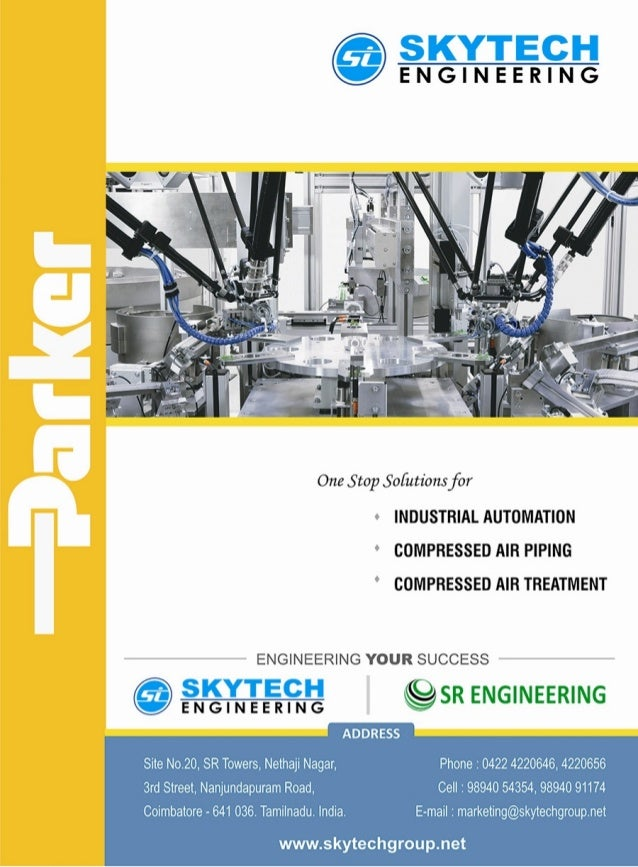 Skytech Engineering, Coimbatore, Pneumatics