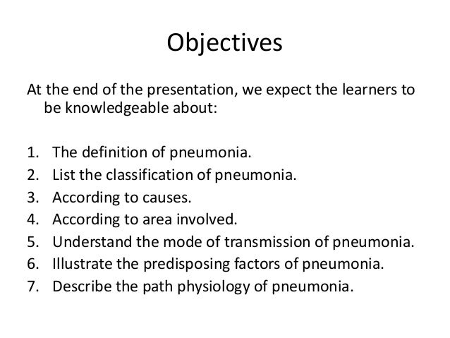 pneumonia, Human Body