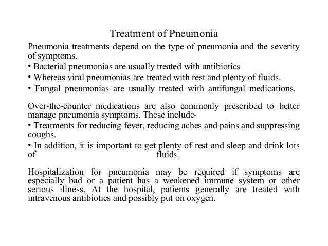 pneumonia in children, Human Body