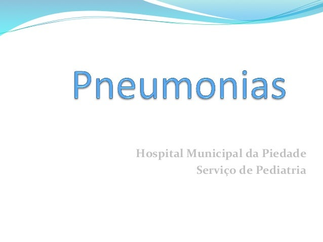 Hospital  Municipal  da  Piedade   Serviço  de  Pediatria