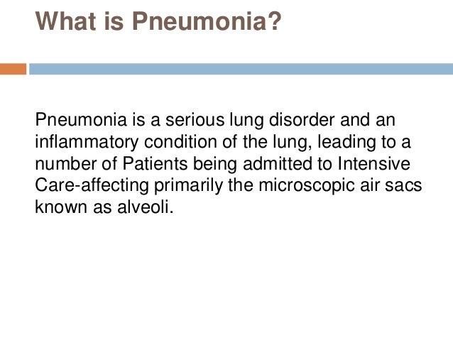 Acute Care Of Pneumonia Patient Case Nursing Essay