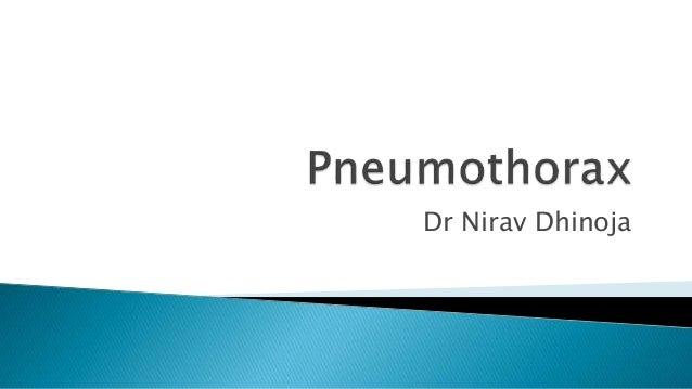 Dr Nirav Dhinoja