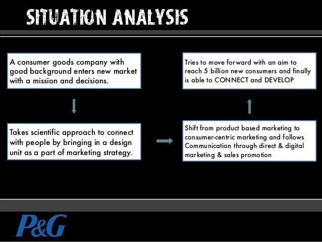 SITUATION ANALYSIS A consumer goods company with good background enters new market with a mission and decisions. Takes sci...