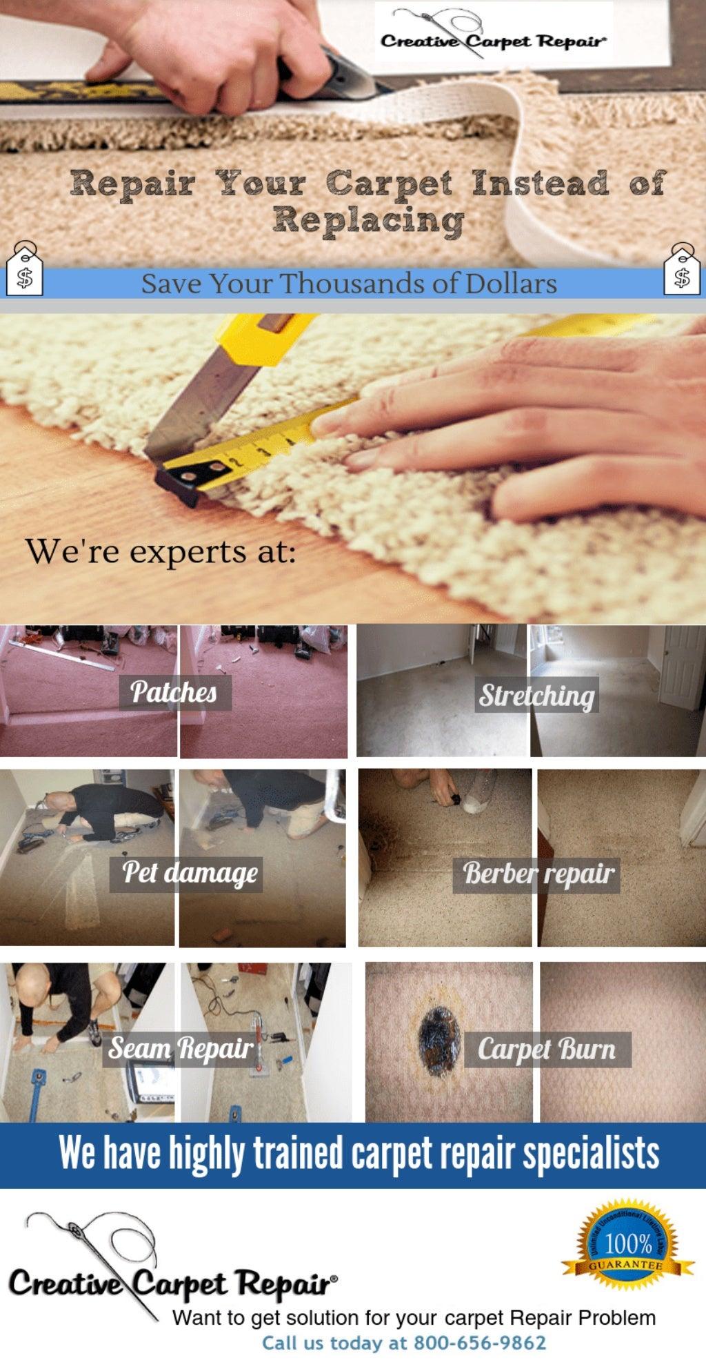 Carpet Repair - Home Improvement - Magazine cover