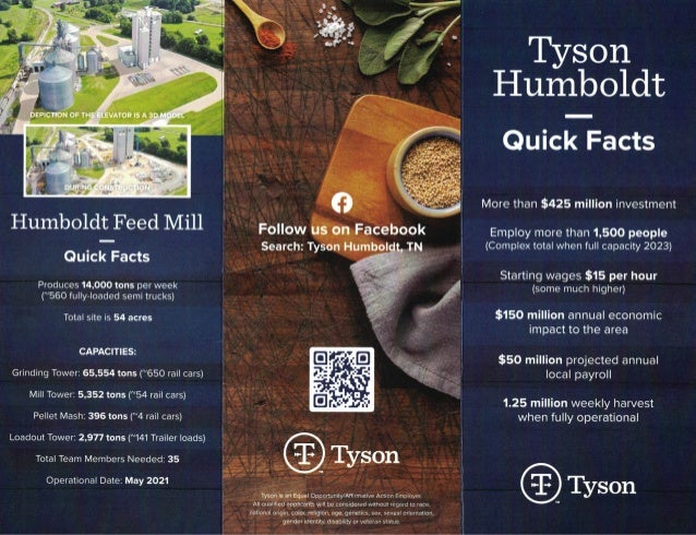 Humboldt Processing Facility Flyer - 342 Mag-Drives