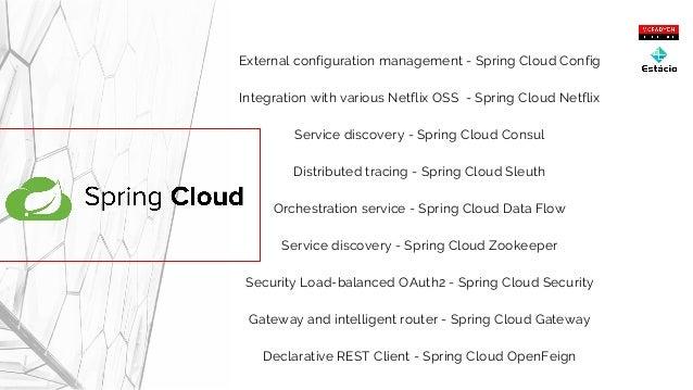 Micro-serviços - Spring Cloud e Netflix OSS - Universidade Estácio de…
