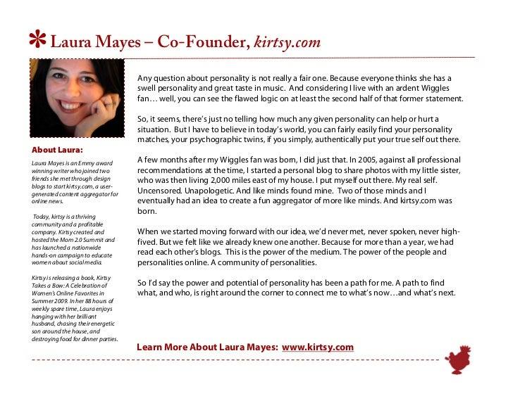 43adbb94e10 Laura Mayes – Co-Founder