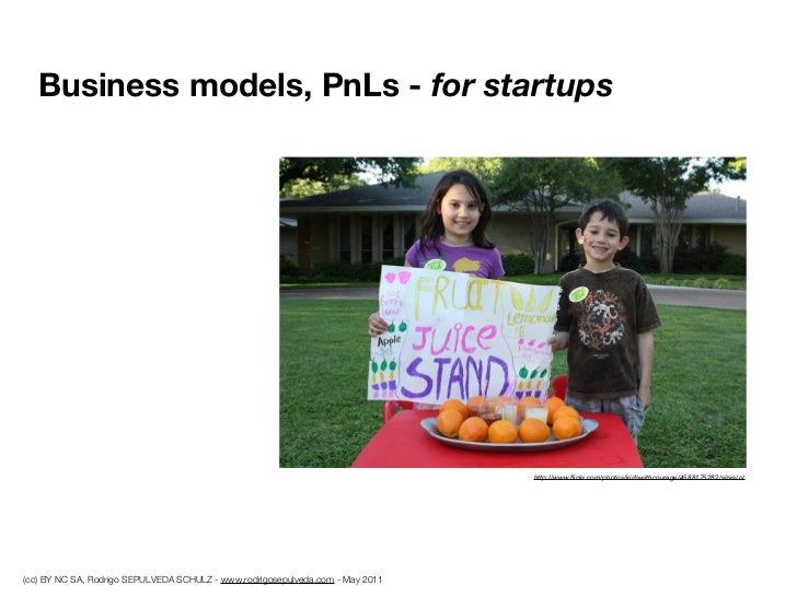 Business models, PnLs - for startups                                                                                http:/...