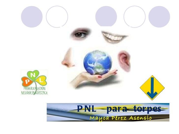 P NL   par a tor pes  Mayca Pérez Asensio