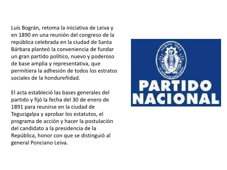 Pn powerpt 1 - Fundar un partido politico ...