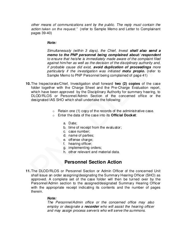 sample application letter for pnp nup