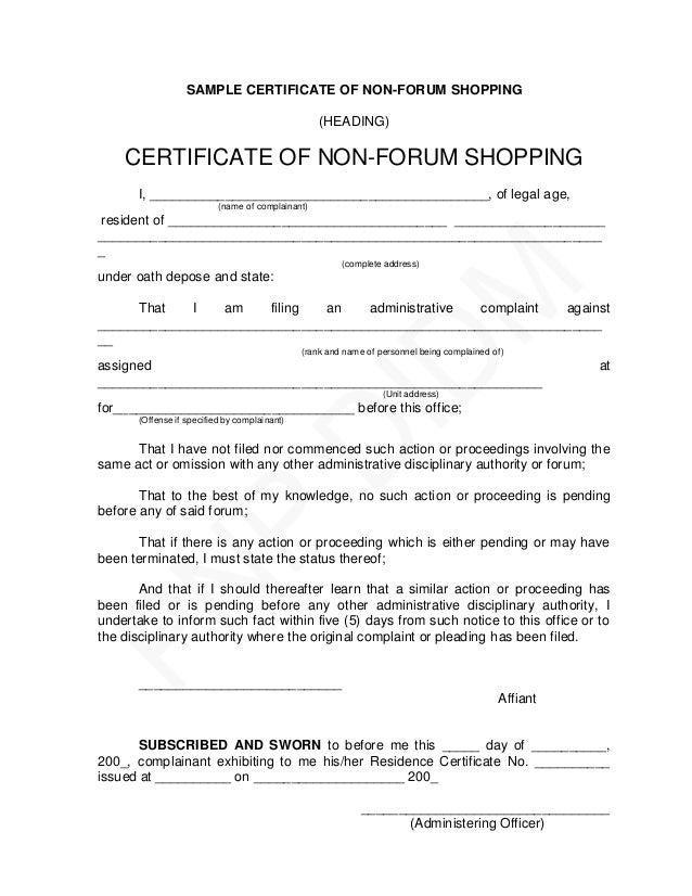 Pnp pre charge evaluation and summary hearing guide sample certificate yadclub Images