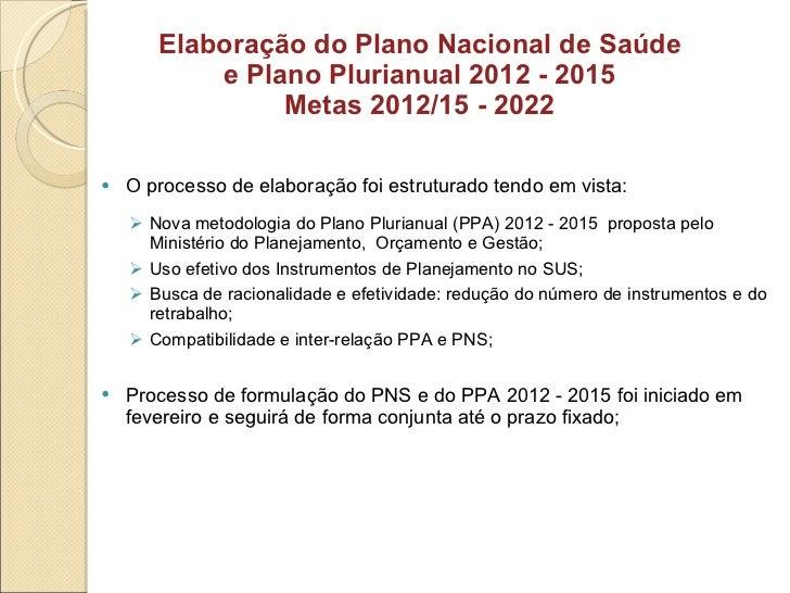 <ul><li>O processo de elaboração foi estruturado tendo em vista: </li></ul><ul><ul><li>Nova metodologia do Plano Plurianua...