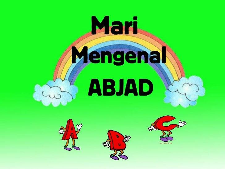 MariMengenal ABJAD