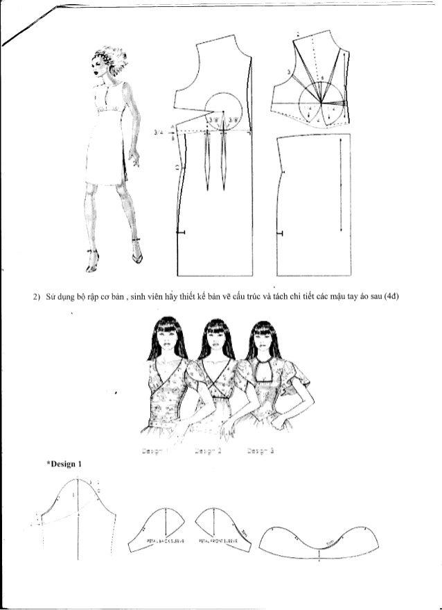 đáP án đề thi môn thiết kế trang phục 1 thi hk2.11 12