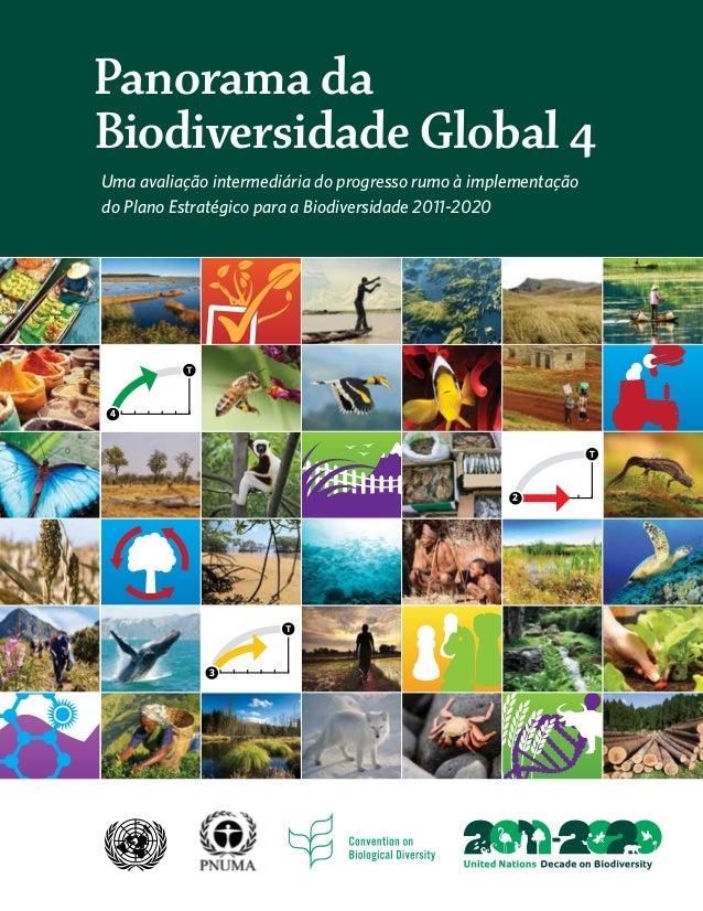 3 4 2 Panorama da Biodiversidade Global 4 Uma avaliação intermediária do progresso rumo à implementação do Plano Estratégi...