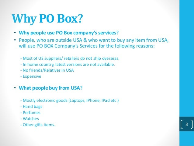 how to buy a po box