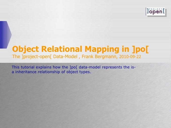 Po dev-data-model-object relationalmapping.100926a