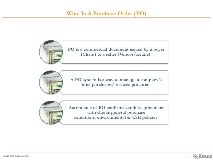 ACCOUNTS RECEIVABLE - PURCHASE ORDER