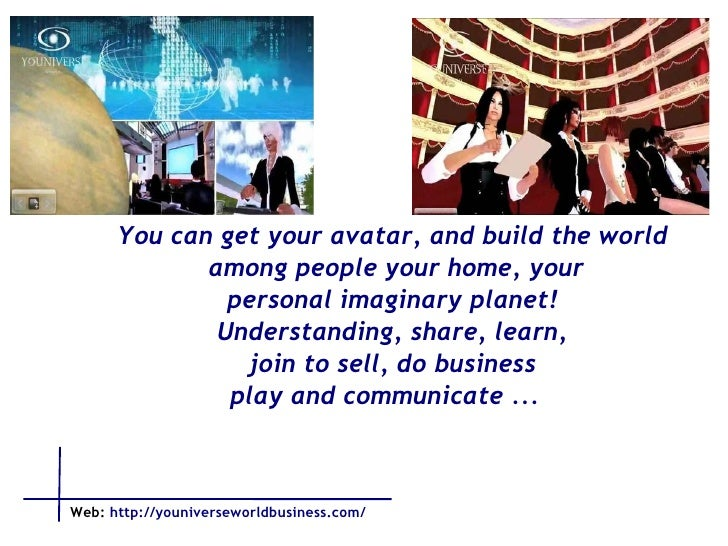 You can get your avatar, and build the world among people your home, your personal imaginary planet! Understanding, share,...
