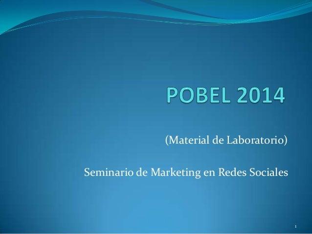 (Material de Laboratorio) Seminario de Marketing en Redes Sociales 1