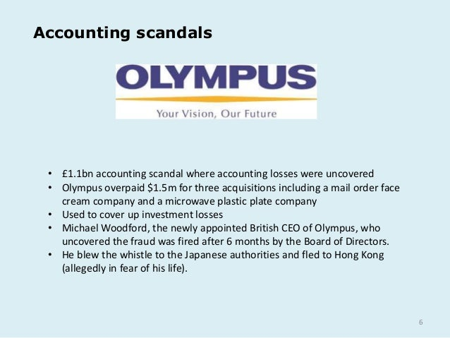 corporate finance aig accounting scandal explained Scandals in the corporate world, whether centered around corruption, bribery, fraud, or other greed tend to have a significant impact on the economy as a whole, and while most companies are.
