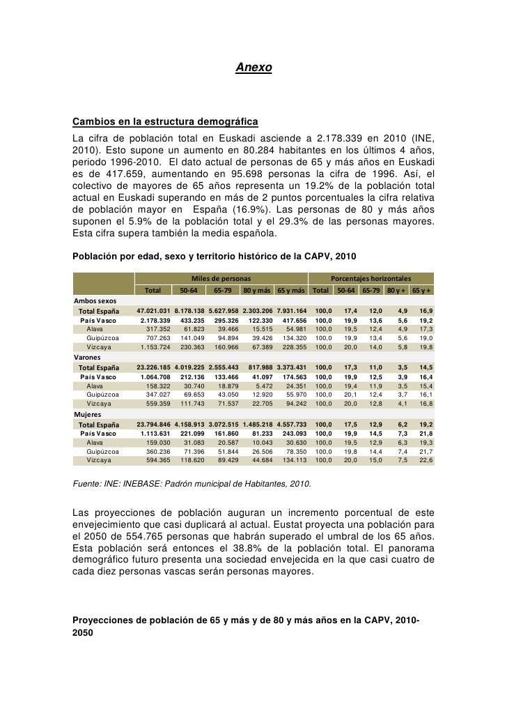 AnexoCambios en la estructura demográficaLa cifra de población total en Euskadi asciende a 2.178.339 en 2010 (INE,2010). E...