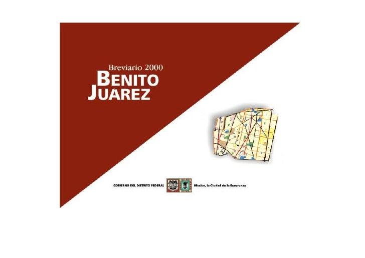 BREVIARIO DE BENITO JUAREZ                                                                                          INDICE...